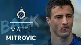 Mitrovic resmen Club Brugge'de