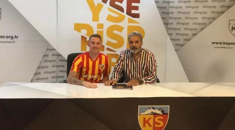 Rajko Rotman Kayserispor'da!