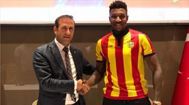 Yeni Malatyaspor Donald'la imzaladı
