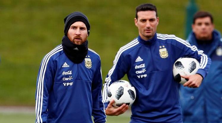 Arjantin artık ona emanet