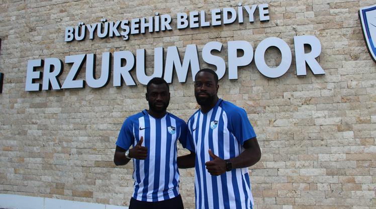 BB Erzurumspor'da 2 imza birden!
