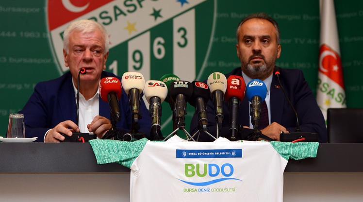 Bursaspor'a bir sponsor daha!