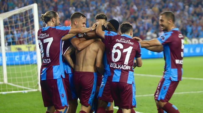 İşte Trabzonspor - Demir Grup Sivasspor maçının özeti