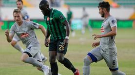Akhisarspor - Çaykur Rizespor: 1-1 (ÖZET)