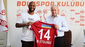 Boluspor yeni golcüsünü tanıttı