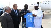 Senegal Cumhurbaşkanı'na Trabzonspor forması!
