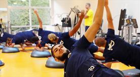 Fenerbahçe kuuvet ve dayanıklılık çalıştı