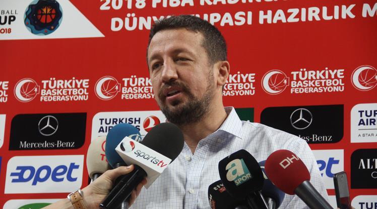 Türkiye Basketbol Federasyonu Başkanı Hidayet Türkoğlu, A Milli Kadın Basketbol Takımı'nın da mücadele edeceği Dünya Şampiyonası öncesinde açıklamalar