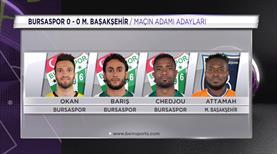 Sizce Bursaspor - Medipol Başakşehir maçının yıldızı kimdi?