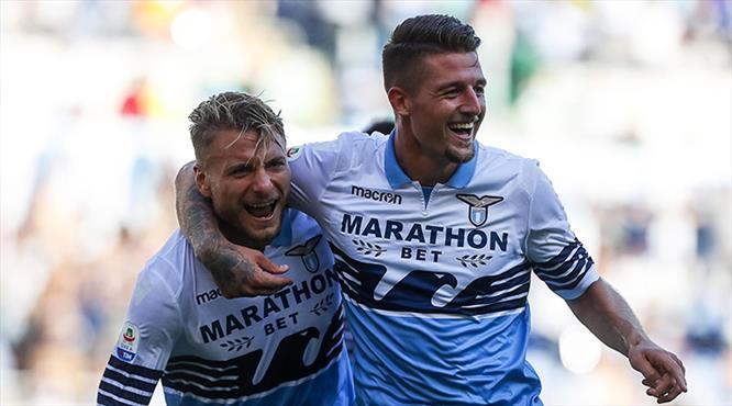 Lazio seriye bağladı! (ÖZET)