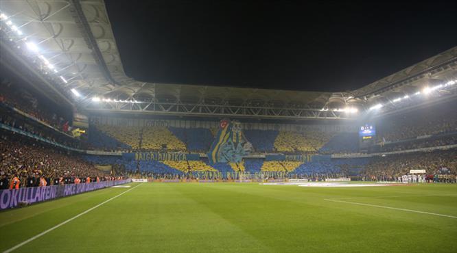 Fenerbahçe'den müthiş koreografi