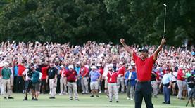 Tiger Woods'tan büyük geri dönüş