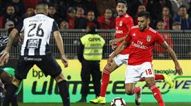 Benfica deplasmanda kayıp!