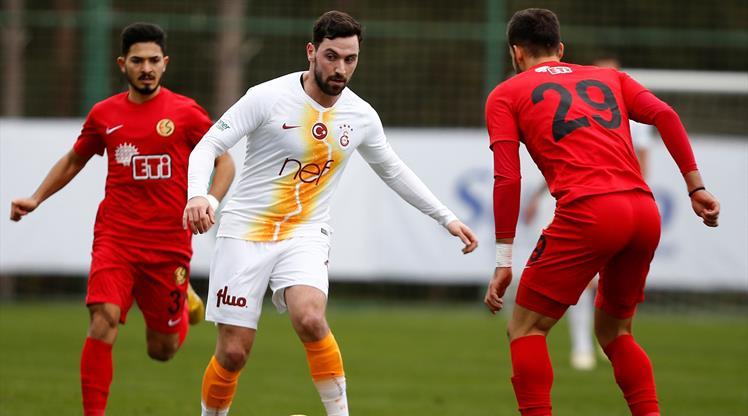 Galatasaray'dan gollü prova