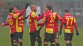 Göztepe'den yarım düzine gol