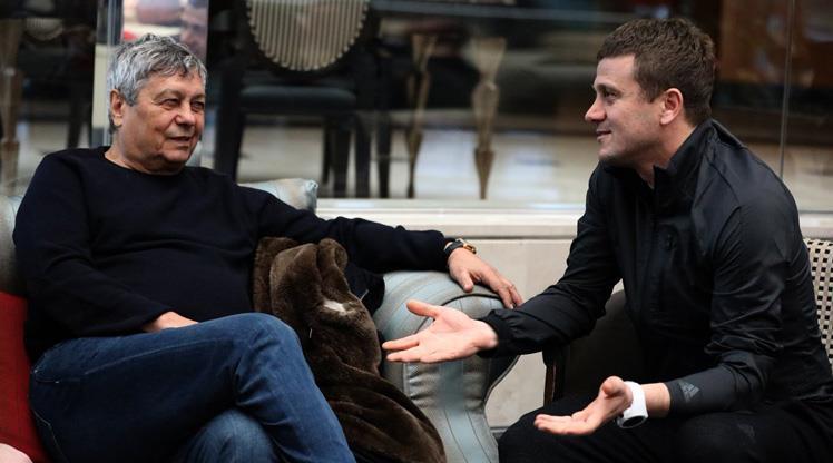 Lucescu'dan Hakan Keleş'e ziyaret