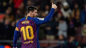 Messi yine tarihe geçti! 400. gol...