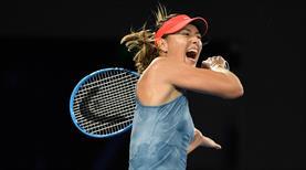 Sharapova son şampiyonu eledi!