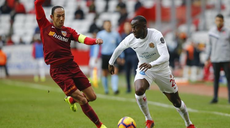 Antalyaspor - İstikbal Mobilya Kayserispor: 0-0 (ÖZET)