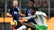 Sassuolo'dan Inter'e geçit yok (ÖZET)
