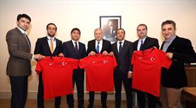 Özbekistan Federasyonundan TFF'ye ziyaret