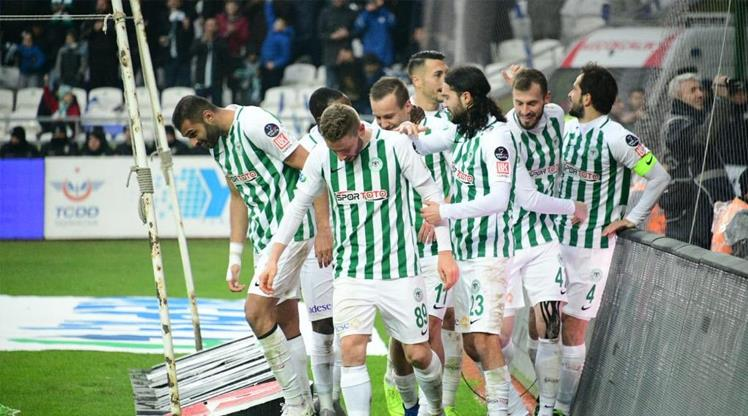 Konyaspor yükselişte!