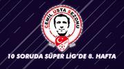 10 soruda Süper Lig'de 8. hafta
