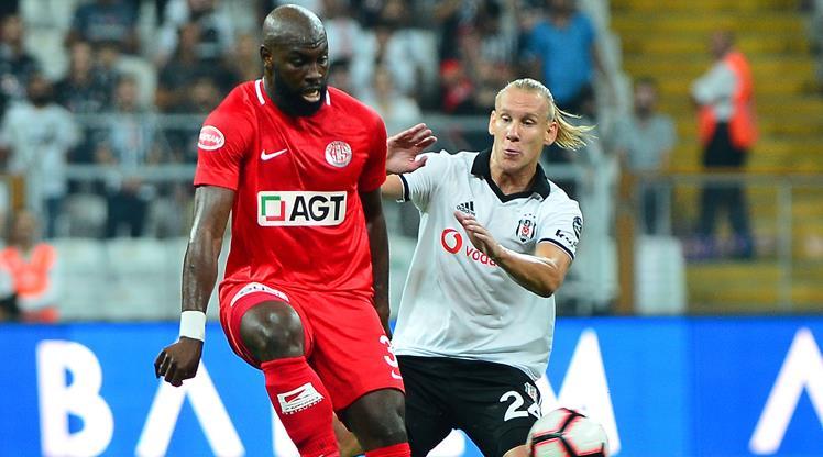 Beşiktaş Antalya ile 46. kez!