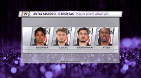 Sizce Antalyaspor - Beşiktaş maçının yıldızı kimdi?