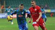 Çaykur Rizespor - Antalyaspor: 1-1 (ÖZET)