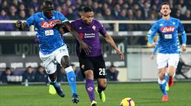 Napoli'ye Fiorentina freni! (ÖZET)