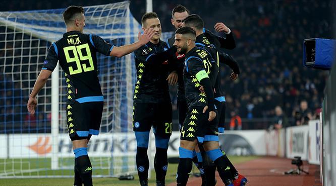 Napoli işi ilk maçta bitirdi (ÖZET)
