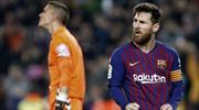 Barça'yı yine Messi güldürdü (ÖZET)