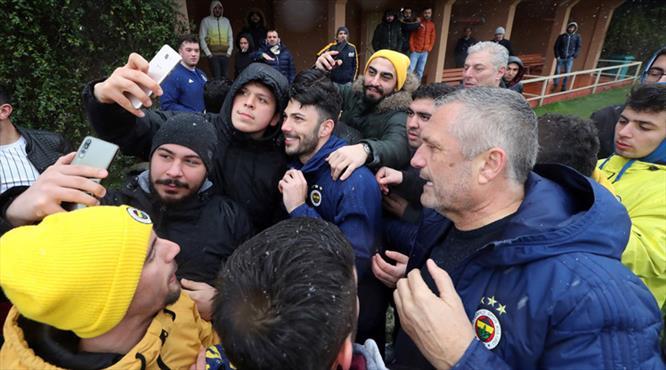 Fenerbahçe'ye taraftar morali