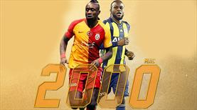 Galatasaray ile Fenerbahçe 2000. kez