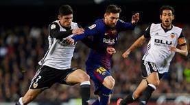 Barcelona'nın rakibi Valencia!