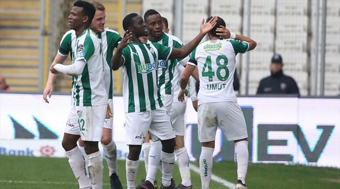 Bursaspor - Demir Grup Sivasspor: 3-2 (ÖZET)