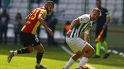 Atiker Konyaspor - Göztepe: 1-1 (ÖZET)