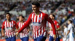Morata Atletico'yu taşıdı (ÖZET)