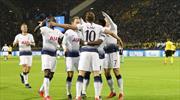 Tottenham 8 yıl sonra çeyrek finalde (ÖZET)