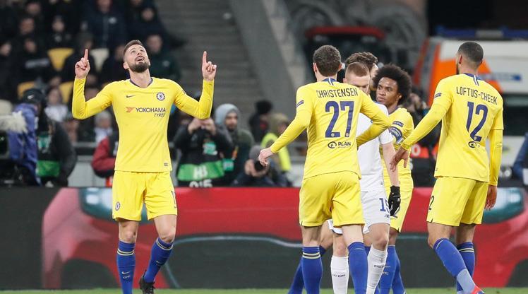 Giroud hat-trick yaptı, Chelsea şovla çeyrek finale çıktı (ÖZET)
