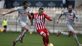 Antalya'da gollü prova