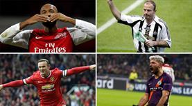 İşte Premier Lig'in en golcüleri...
