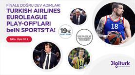 Turkish Airlines EuroLeague Play-Off'larının heyecanını evinize getirin!