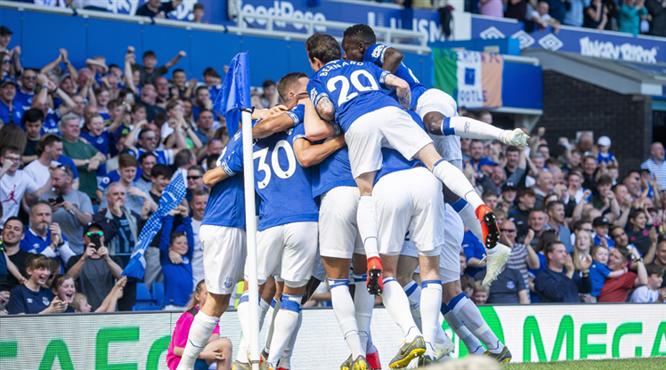 4-0! Everton müthiş gollerle güldü (ÖZET)