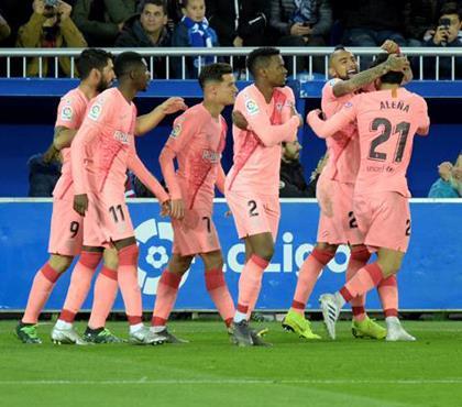 Barça şampiyonluğa bir adım uzakta (ÖZET)