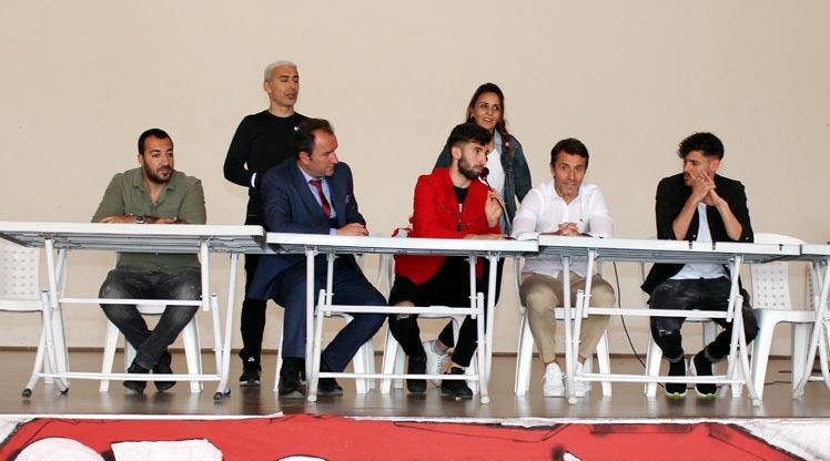 Antalyaspor öğrencilerle buluştu