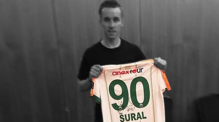 Josef Sural'ın forması emekliye ayrıldı