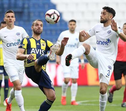 İşte Kasımpaşa - Fenerbahçe maçının özeti