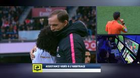 PSG-Nice maçında ilginç anlar!